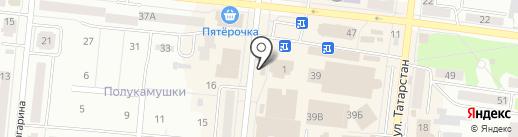 Тысяча мелочей на карте Зеленодольска