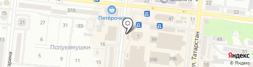 Магазин рыбы на карте Зеленодольска