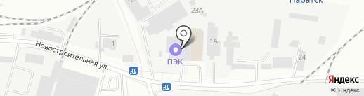 Тимо на карте Зеленодольска