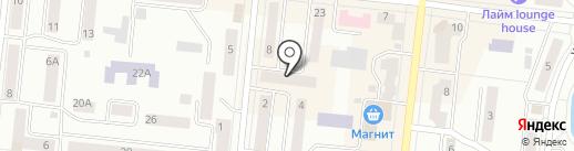 Лидия на карте Зеленодольска