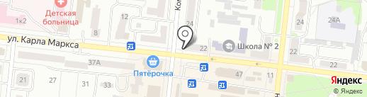 Елена на карте Зеленодольска