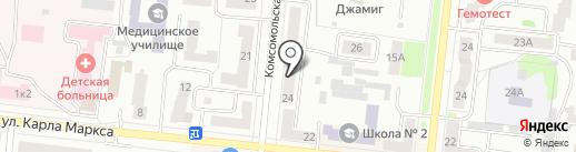 Импульс на карте Зеленодольска