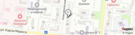 АЛЬФА МЕБЕЛЬ на карте Зеленодольска