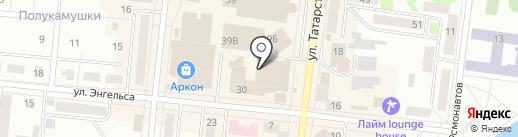 Мир детства на карте Зеленодольска