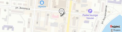 М ФИНАНС на карте Зеленодольска