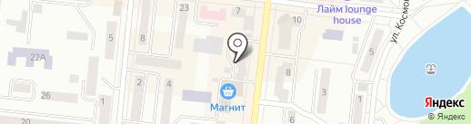 Джинс Маркет на карте Зеленодольска