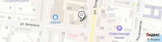 Магазин сумок на карте Зеленодольска