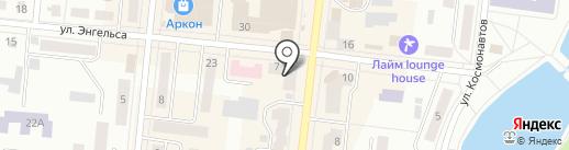 Приволжский Сберегательный, КПК на карте Зеленодольска