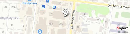 Men`s Club на карте Зеленодольска