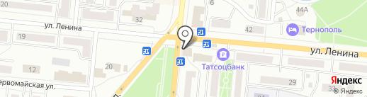 Быстроденьги на карте Зеленодольска
