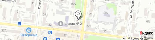 Ломбард Золотой на карте Зеленодольска