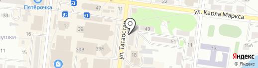НКТ на карте Зеленодольска