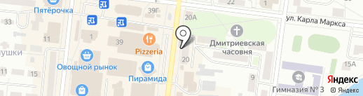 Вестфалика на карте Зеленодольска