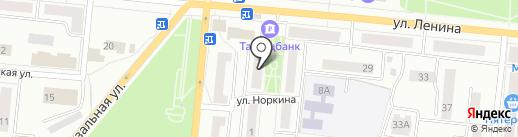 Общество инвалидов Республики Татарстан на карте Зеленодольска
