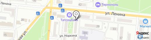 Общественный пункт охраны правопорядка №1 на карте Зеленодольска