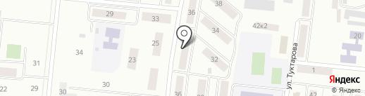 Примула на карте Зеленодольска