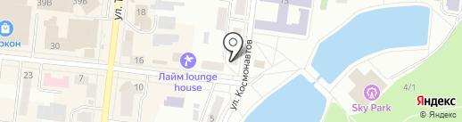 Александрия на карте Зеленодольска