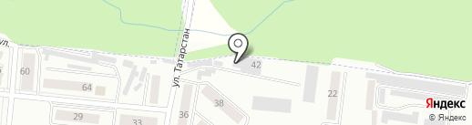 Автомастерская на карте Зеленодольска