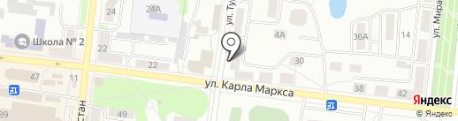 Консул на карте Зеленодольска