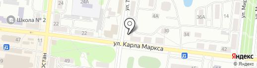 Спорт-бар на карте Зеленодольска