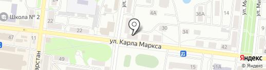 Партнер на карте Зеленодольска