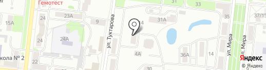 Я и Ты на карте Зеленодольска