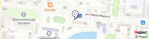 Rieker на карте Зеленодольска
