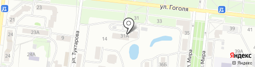 Строящийся жилой комплекс на карте Зеленодольска