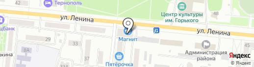 Магазин бытовой химии на Ленина на карте Зеленодольска