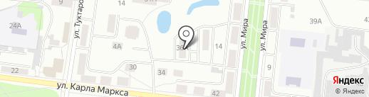 Озеро надежды на карте Зеленодольска