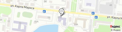 Центральная детская библиотека им. А. Гайдара на карте Зеленодольска