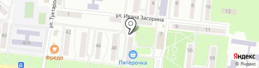 Юмарт Халяль на карте Зеленодольска