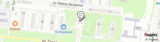 Банкомат, Банк ВТБ 24, ПАО на карте Зеленодольска