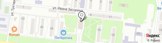 Орматек-Кама на карте Зеленодольска