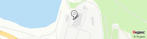 Олимпиец на карте Ульяновска