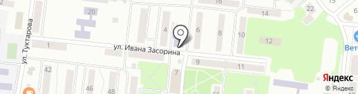 Детская художественная школа на карте Зеленодольска