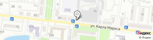 Волжские страницы на карте Зеленодольска