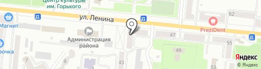 Национальный банк ТРАСТ на карте Зеленодольска