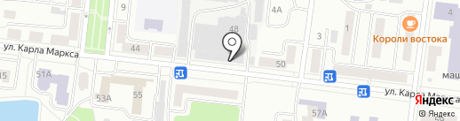 Зеленодольский молочный комбинат на карте Зеленодольска