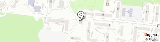 Продуктовый магазин на карте Зеленодольска