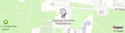 Храм Казанской Божьей Матери на карте Зеленодольска