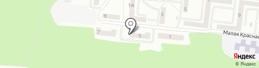 Атлет на карте Зеленодольска