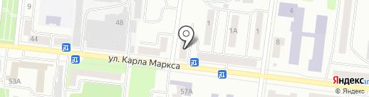 Домашний на карте Зеленодольска