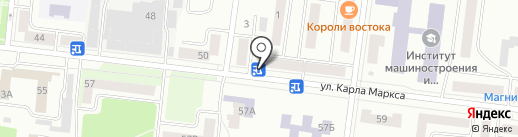 Платежный терминал, Сбербанк, ПАО на карте Зеленодольска