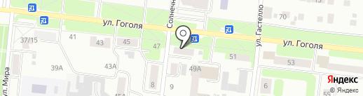 Пестречинка на карте Зеленодольска