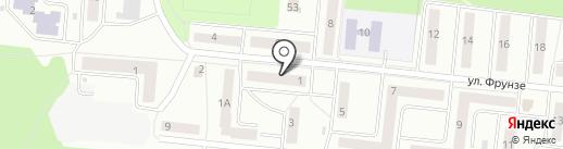 ВЕКТОР на карте Зеленодольска