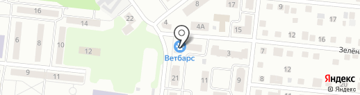 ВетБарс на карте Зеленодольска