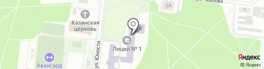 Центр детского творчества на карте Зеленодольска
