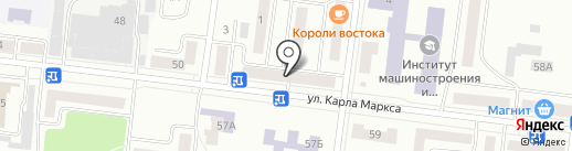 Пельмешка на карте Зеленодольска