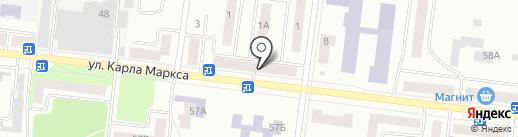 Арго на карте Зеленодольска